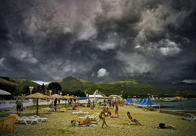 kabardinka plaži