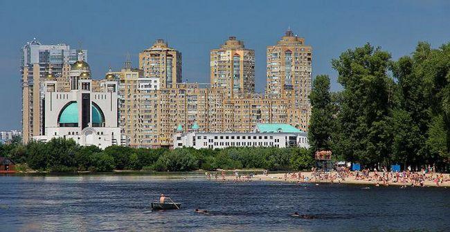 Гидропарк (киев): описание, пляжи и развлечения
