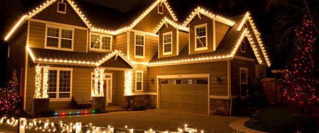 LED vijence za ukrašavanje kuće i ulice
