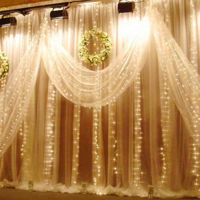 LED vijence kiša