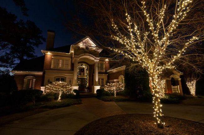 LED Božič Garland