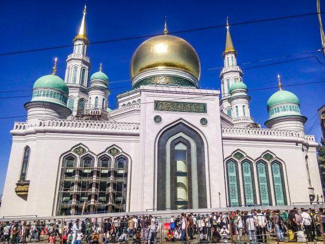 мечеть московская соборная