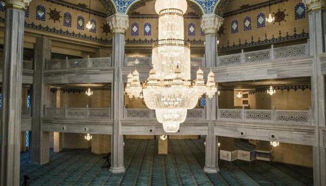 московская соборная мечеть внутри