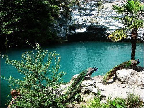 Modro jezero, Abhazija