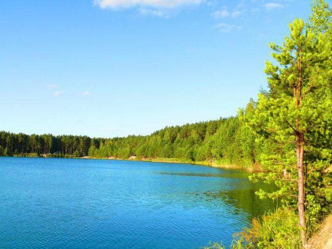 Голубые озера, черниговская область. Отдых в украине
