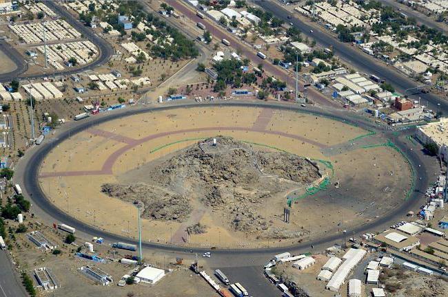 Гора арафат. История горы арафат
