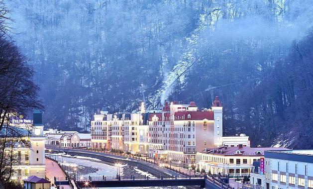 Hoteli Rosa Khutor recenzije