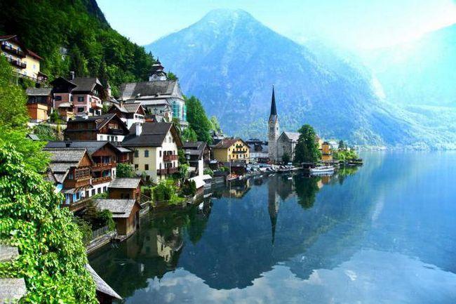 Austrijska planina: ime, visina. Geografija Austrije