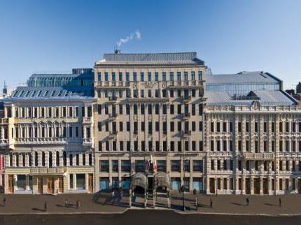 Hoteli u St. Petersburgu: cijene, recenzije i fotografije