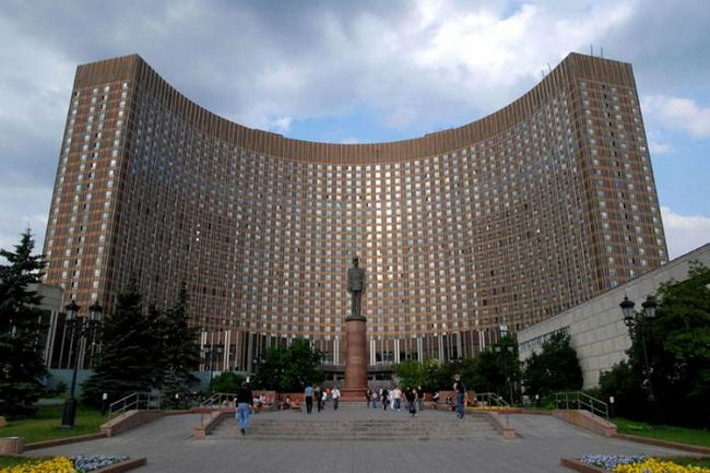 "Hoteli u Moskvi: ""prostor"". Hotel"