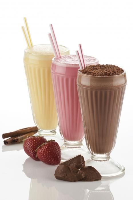 рецепт домашнего молочного коктейля