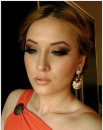 make-up u grčkom stilu fotografiju