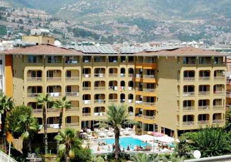 Gunes suntime hotel sa 3 * (Turska, Alanya): fotografije i recenzije