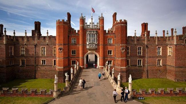 Хэмптон-корт (hampton court). Дворцово-парковый ансамбль в лондоне
