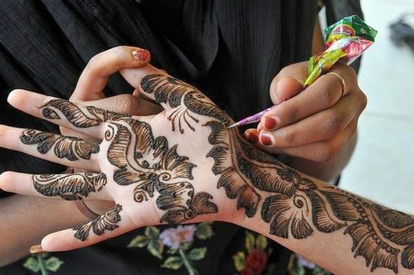 Kana za mehendi - tetovaža