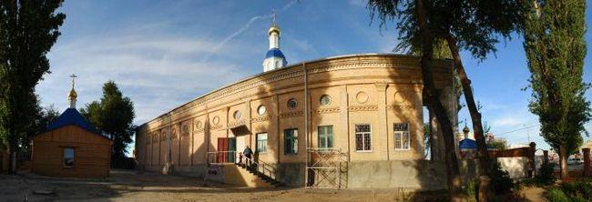 Hram pohvale Blažene Djevice Volgograd Foto