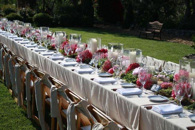 Идеальная сервировка стола на свадьбу: правила и тонкости