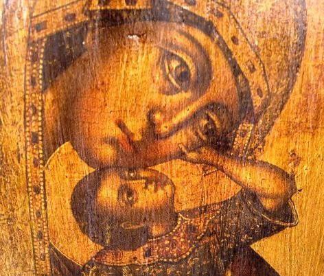 vzygranie beba ikona Bogorodice vrijednosti