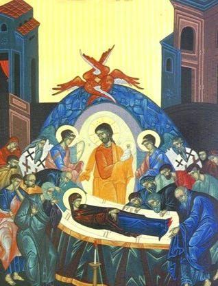 Uspenja ikona Bogorodice
