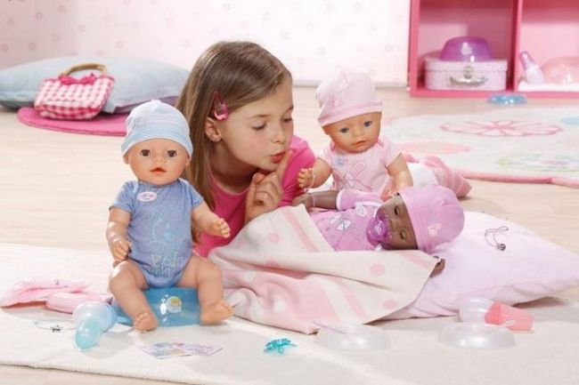 interaktivni lutka Dasha