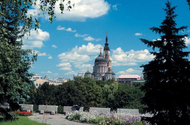 Povijest katedrale Navještenja (Kharkov). Usluga u katedrali Navještenja. raspored