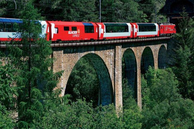 Итальянская железная дорога. Железнодорожный транспорт италии