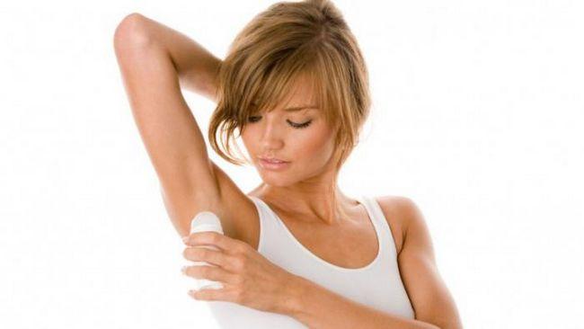 dezodorans iz teškog znojenje