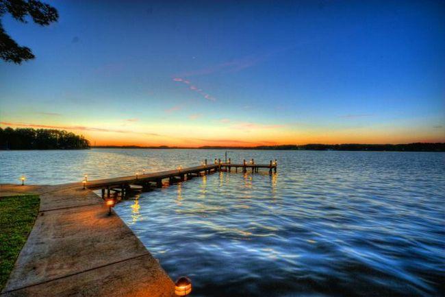 šta sanja jezero sa čistom vodom
