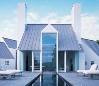 krov od metala u modernoj arhitekturi