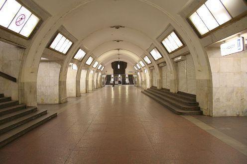 Kalininsko Moskva metro linije shema