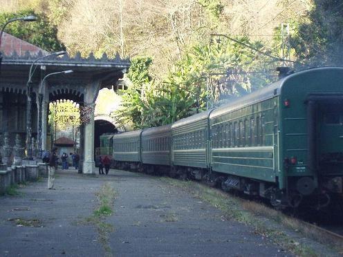 Abhazija, kako se na vlak