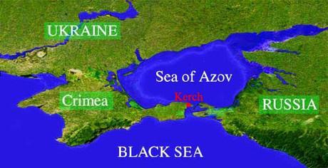 karte Anapa na Krim