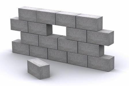 Kako staviti zid pjene blokova