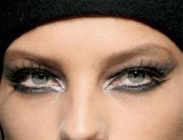 Kako obojiti oči, ako je visio zauvijek