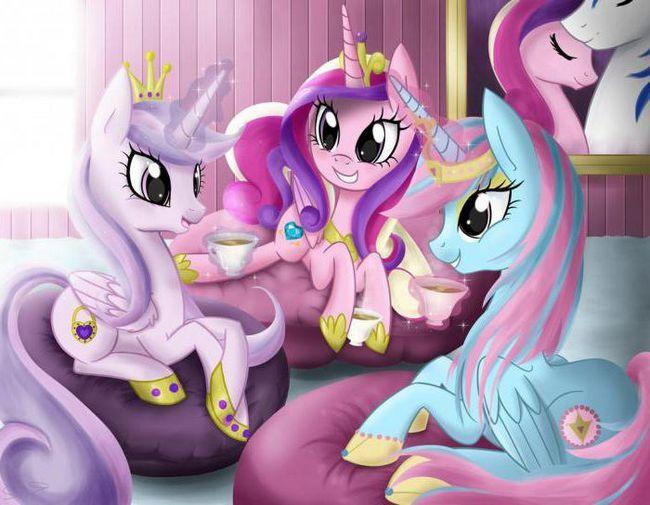 Как нарисовать пони-принцессу Каденс: пошаговый мастер-класс