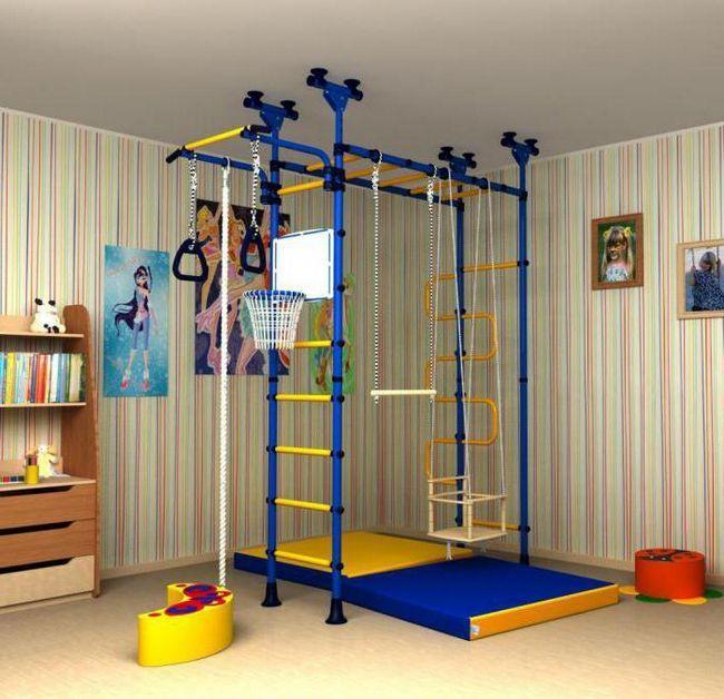 детские спортивные уголки для квартиры