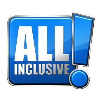 """Kao što je navedeno od strane vlasti """"all inclusive"""". To uključuje"""