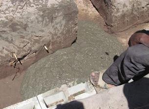 Cementni malter za proporcije temelja