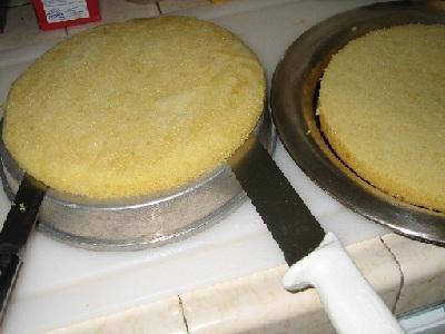 Бисквитно кремовый торт
