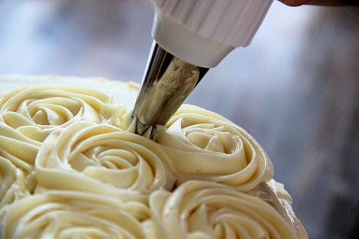 Торт кремовый для девочки