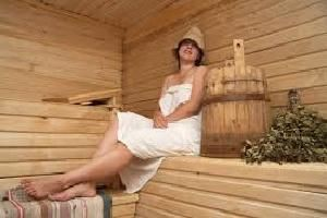 Обустройство бани изнутри
