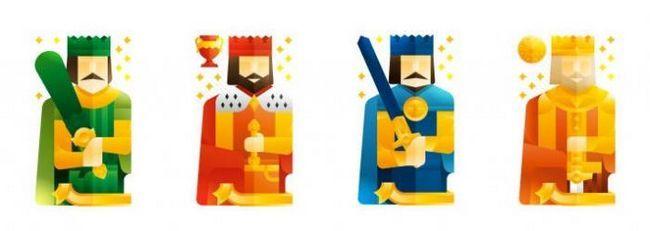 Proricanje četiri kraljeva