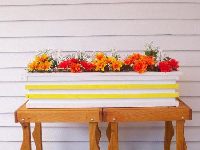 Kako napraviti kutiju za cvijeće svojim rukama?