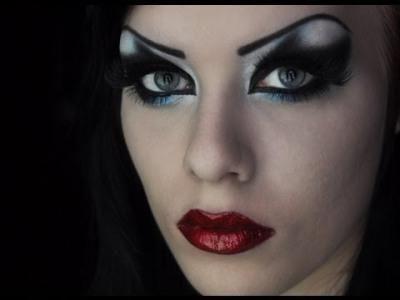 Kako napraviti make-up vještica na Halloween kod kuće