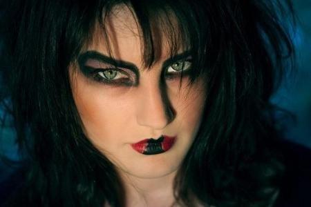 vještica foto Noć vještica šminka