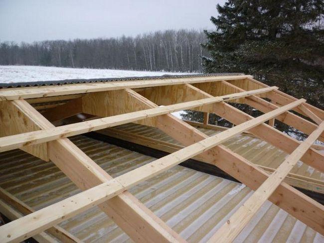 Kako izgraditi krov drvene kuće?