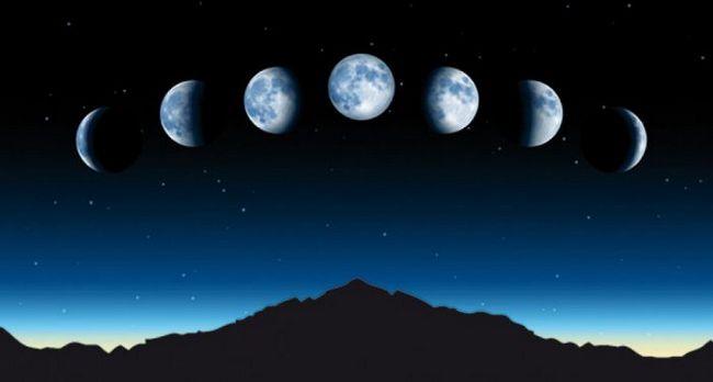 faze Mjeseca u avgustu