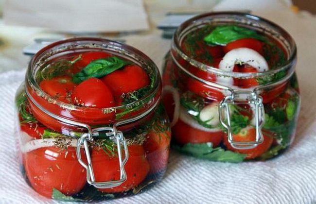 Kako brzo marinirati paradajz? Kiseli paradajz: recepti