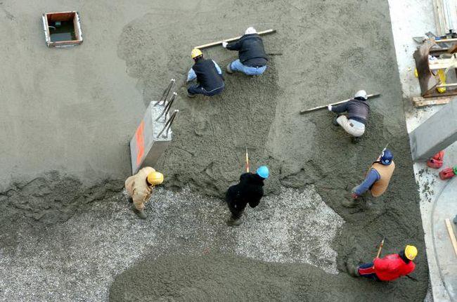 u ono što proporcije mix concrete