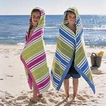 пляжные полотенца махровые